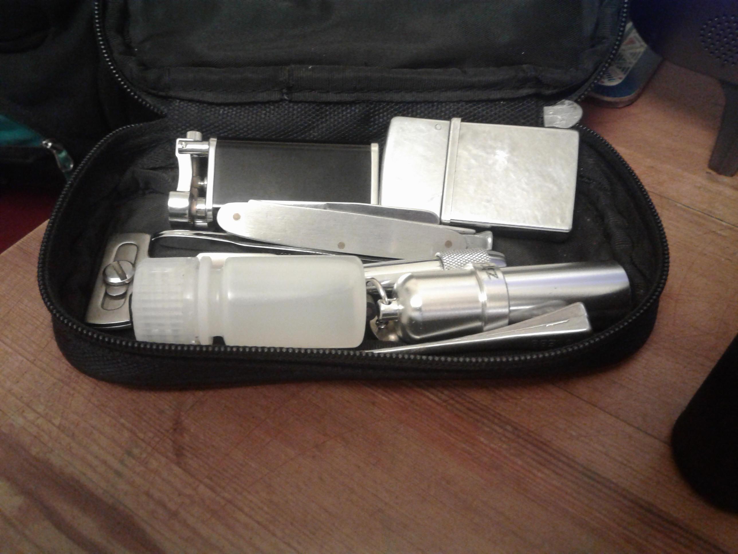 pipe smoking kit